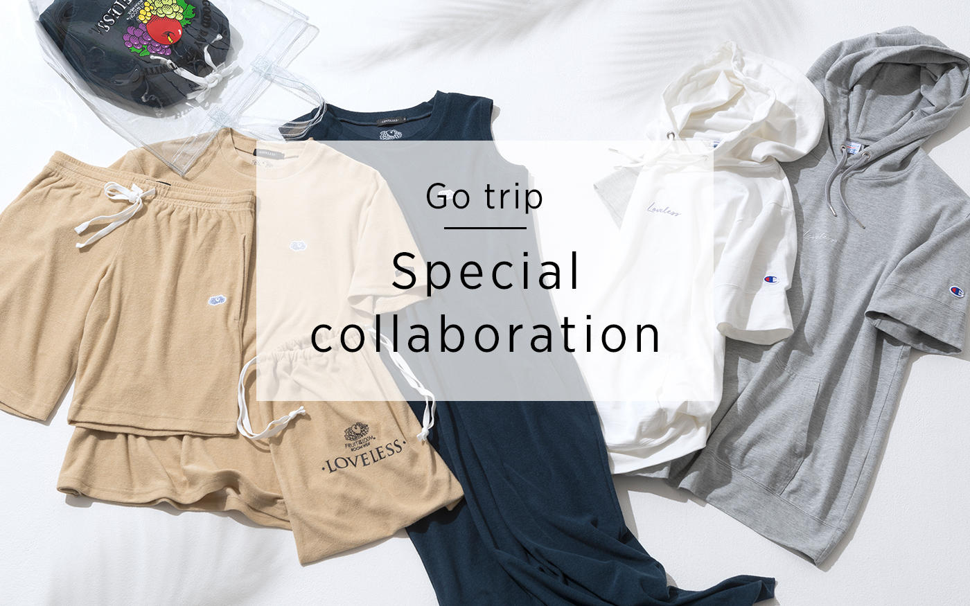 Go trip Special collaboration