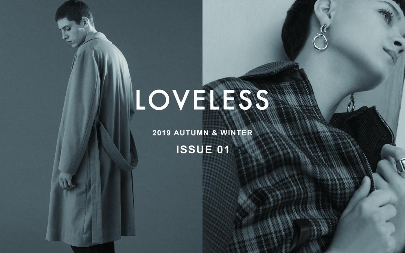 LOVELESS 2019 AUTUMN & WINTER ISSUE 01