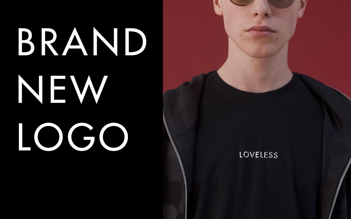 新しくなった'LOVELESS'ロゴに注目