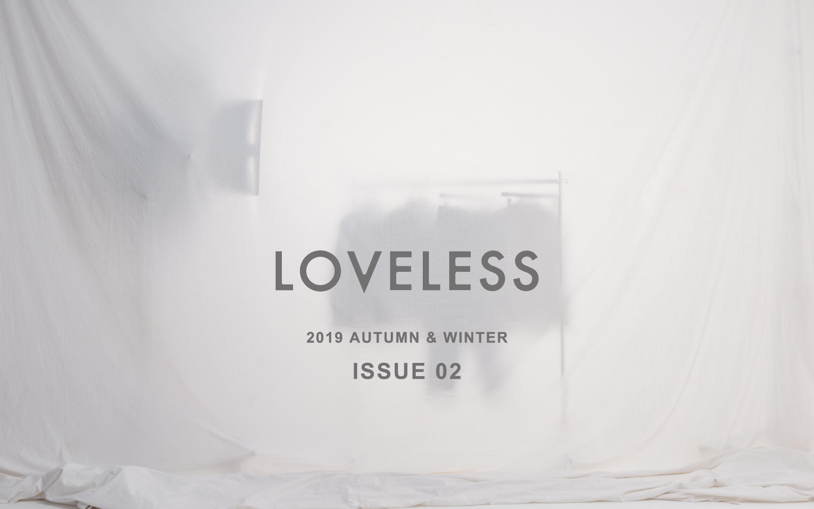 LOVELESS 2019 AUTUMN & WINTER ISSUE 02 - MEN'S STYLE -