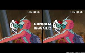 LOVELESS ×「ガンダム&ハローキティプロジェクト」コラボ第二弾発売!