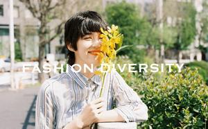 FASHION DIVERSITY ー 私らしく自由に  vol.01 SHEER