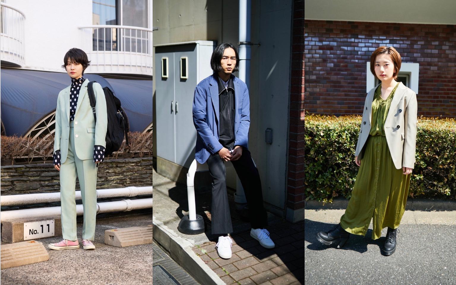 JACKET OWN STYLE 私たちが選ぶジャケットスタイル