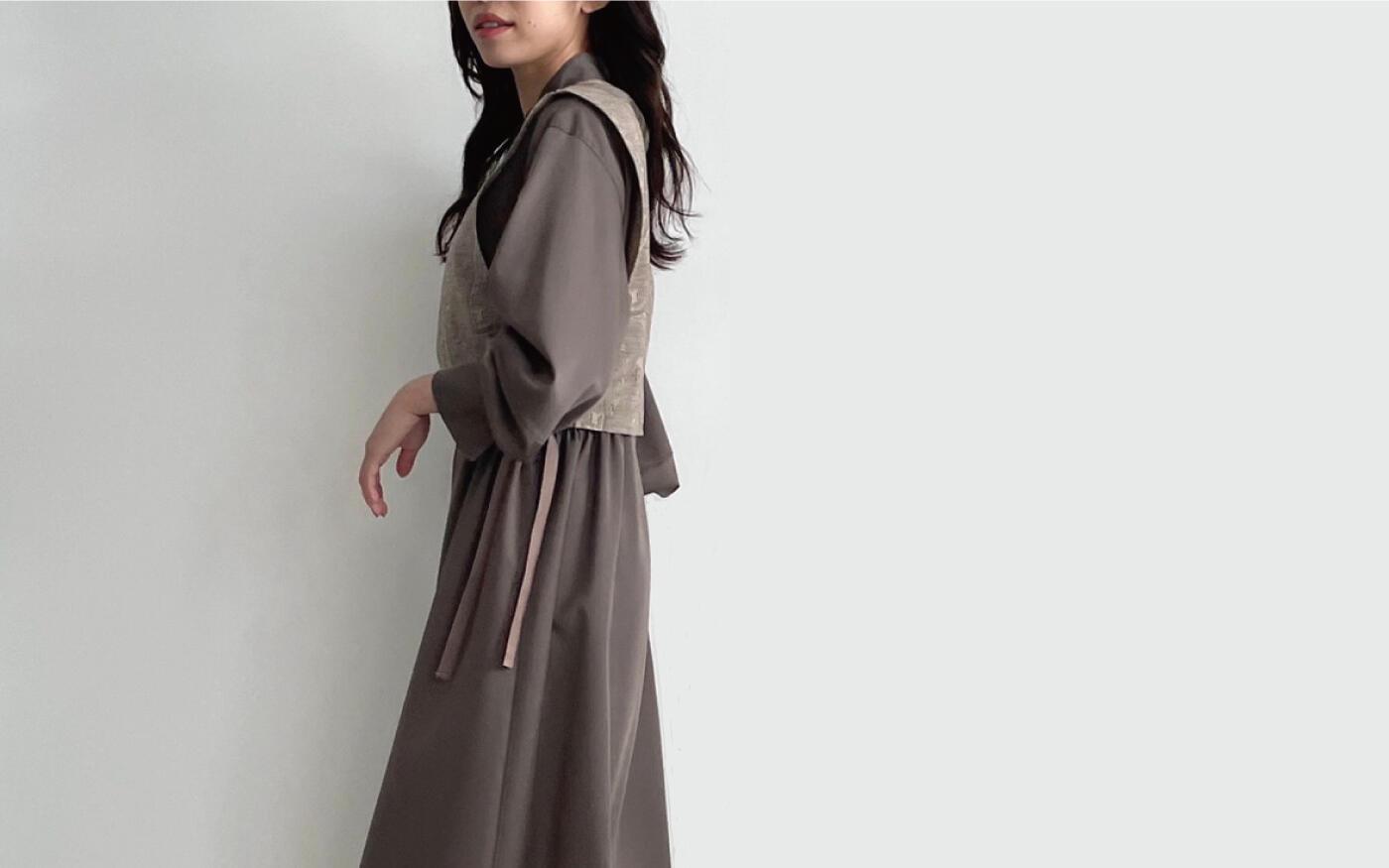 DRESS&SHIRT COLLECTION-旬なワンピースと着映えるブラウスで作る秋のワードローブ-