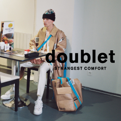 【doublet 2020-21AW 2nd delivery release】ダブレット 2020-21AW 2ndデリバリーがショップ、オンラインストアで同時発売