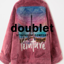 【doublet 2020-21AW 3rd delivery release】完売必至のハンドペイントファージャケットを含むダブレット 2020-21AW 3rdデリバリーがショップ、オンラインストアで同時発売