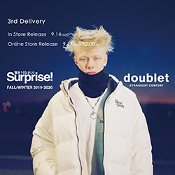 【doublet】 19AW 3rd delivery release